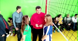 5 школа — 2 школа. Вознесенск соревнования по волейболу среди школ 18.01.17