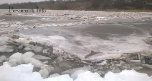 Вперше за чверть віку на Південному Бузі вище Вознесенська за  течією, пройшов потужний льодохід!