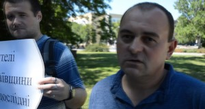 В Николаеве общественники провели акцию «Мы не подопытные крысы».