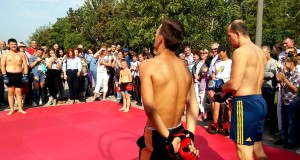 Показательное Выступление ММА клуба «FANAT» г. Вознесенска