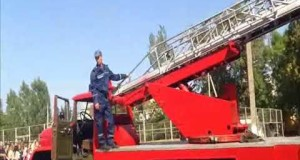 ВІДЕО! 12 ДПРЧ відпрацювння тактико пожежних навчань в Вознесенській ЗОШ №6