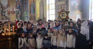 ВИДЕО!  Праздник Рождества Христова в Свято-Вознесенском кафедральном соборе