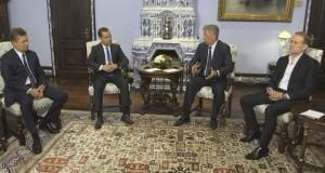 ВИДЕО! Переговоры «Оппозиционной платформы — За жизнь» с премьер-министром РФ Медведевым