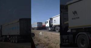 Фуры ставят Николаеву ультиматум: грузовики в наглую перекрывают въезды в город всему транспорту (видео)